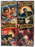 Pulps:Science Fiction, Astonishing Stories Group (Fictioneers Inc., 1940-42) Condition:Average VG.... (Total: 10 Items)
