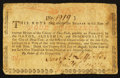 Colonial Notes:New York, New York August 25, 1774 (Water Works) 4s Fine.. ...