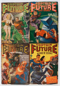 Pulps:Science Fiction, Captain Future Group (Better Publications, 1940-42) Condition:Average VG.... (Total: 6 Items)
