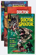 Bronze Age (1970-1979):Horror, Occult Files of Doctor Spektor Group (Gold Key, 1973-82) Condition:Average VF+.... (Total: 17 Comic Books)