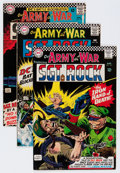Silver Age (1956-1969):War, Our Army at War #165-170 Group (DC, 1966) Condition: Average FN/VF.... (Total: 6 Comic Books)