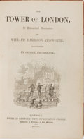 Books:Literature Pre-1900, George Cruikshank [illustrator]. William Harrison Ainsworth. TheTower of London. Bentley, 1840. First edition, firs...