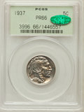 Proof Buffalo Nickels: , 1937 5C PR66 PCGS. CAC. PCGS Population (753/415). NGC Census:(482/358). Mintage: 5,769. Numismedia Wsl. Price for problem...