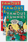 Golden Age (1938-1955):Miscellaneous, Famous Funnies File Copies Group (Eastern Color, 1942-48) Condition: Average VF/NM.... (Total: 5 Comic Books)