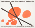 Fine Art - Work on Paper:Print, NATIONAL AIR AND SPACE MUSEUM, SMITHSONIAN INSTITUTE, WASHINGTON, D.C. . July 1976. Offset lithograph. 32 x 40 inche...