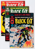 Golden Age (1938-1955):Horror, Black Cat Mystery #63-65 File Copies Group (Harvey, 1962-63)....(Total: 3 Comic Books)