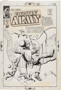 Original Comic Art:Covers, Don Perlin Fightin' Army #104 Cover Original Art (Charlton,1972)....