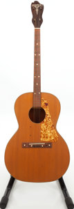 Musical Instruments:Acoustic Guitars, 1940s Harmony Windsor Natural Acoustic Tenor Guitar....