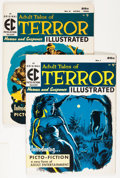 Golden Age (1938-1955):Horror, Terror Illustrated #1 and 2 Group (EC, 1955-56) Condition: AverageFN-.... (Total: 2 Comic Books)