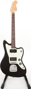 Musical Instruments:Electric Guitars, 2011 Fender Jazzmaster Black Solid Body Electric Guitar, #MX11068971. ...