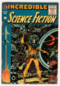 Golden Age (1938-1955):Science Fiction, Incredible Science Fiction #33 (EC, 1956) Condition: FN/VF....