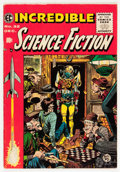 Golden Age (1938-1955):Science Fiction, Incredible Science Fiction #32 (EC, 1955) Condition: FN/VF....