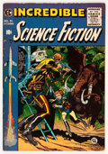Golden Age (1938-1955):Science Fiction, Incredible Science Fiction #31 (EC, 1955) Condition: FN/VF....