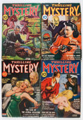 Pulps:Detective, Thrilling Mystery Group (Standard, 1940-44) Condition: Average VG.... (Total: 4 Items)
