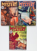 Pulps:Detective, Thrilling Mystery Group (Standard, 1936) Condition: Average VG....(Total: 3 Items)