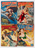 Pulps:Science Fiction, Startling Stories/Thrilling Wonder Stories Group (Standard,1938-50).... (Total: 8 Items)