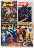 Pulps:Science Fiction, Planet Stories Group (Fiction House, 1951-54) Condition: AverageVG+.... (Total: 21 Items)