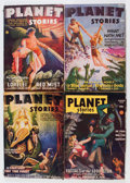 Pulps:Science Fiction, Planet Stories Group (Fiction House, 1946-50) Condition: AverageVG+.... (Total: 17 Items)