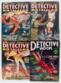 Pulps:Detective, Assorted Detective Pulps Group (Various, 0) Condition: AverageVG.... (Total: 7 Items)
