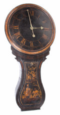 Furniture , AN ACT OF PARLIAMENT ENGLISH CLOCK. 18th century. 50 x 23 x 8 inches (127 x 58.4 x 20.3 cm). The Elton M. Hyder, Jr. Chari...