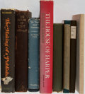 Books:Books about Books, [Books About Books]. Group of Eight Related to Publisher's Histories. Generally very good condition....
