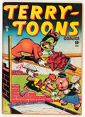 Golden Age (1938-1955):Funny Animal, Terry-Toons Comics #5 (Timely, 1943) Condition: VG....