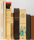 Books:Books about Books, [Books About Books]. Group of Eight Related to Books and Book Arts. Very good or better condition....