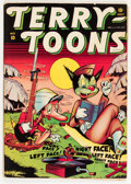 Golden Age (1938-1955):Funny Animal, Terry-Toons Comics #10 (Timely, 1943) Condition: VG/FN....