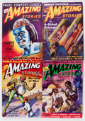 Pulps:Science Fiction, Amazing Stories Group (Ziff-Davis, 1938-46) Condition: AverageFN-.... (Total: 10 Comic Books)