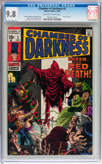 Chamber of Darkness #2 (Marvel, 1969) CGC NM/MT 9.8 Off-white to white pages