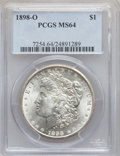 "Morgan Dollars, (2)1898-O $1 MS64 PCGS. The current Coin Dealer Newsletter(Greysheet) wholesale ""bid"" price ... (Total: 2 coins)"