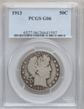 Barber Half Dollars: , 1913 50C Good 6 PCGS. PCGS Population (250/621). NGC Census:(57/166). Mintage: 188,000. Numismedia Wsl. Price for problem ...