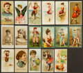 """Non-Sport Cards:Lots, 1888-90 19th Century """"N"""" Tobacco Collection (27) With Scarce N367, N489 Types. ..."""