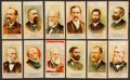 "Non-Sport Cards:Sets, 1887 N1 Allen & Ginter ""American Editors"" Partial Set (25/50)...."