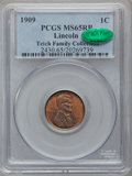 Lincoln Cents: , 1909 1C MS65 Red and Brown PCGS. CAC. Ex: Teich Family Collection.PCGS Population (182/22). NGC Census: (160/38). Mintage:...