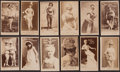 Non-Sport Cards:Lots, 1880's Duke's, Lone Jack, Goodwin and Tiger (N381) CigarettesActresses Collection (31). ...