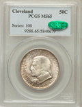 Commemorative Silver: , 1936 50C Cleveland MS65 PCGS. CAC. PCGS Population (2127/677). NGCCensus: (1922/560). Mintage: 50,030. Numismedia Wsl. Pri...