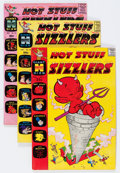 Silver Age (1956-1969):Humor, Hot Stuff Sizzlers File Copy Short Box Group (Harvey, 1961-74) Condition: Average VF/NM....