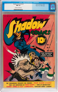 Shadow Comics V2#5 Mile High pedigree (Street & Smith, 1942) CGC NM 9.4 Off-white to white pages