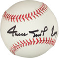 "Baseball Collectibles:Balls, Willie Mays ""Say Hey"" Single Signed Baseball PSA Mint+ 9.5. ..."