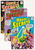 Silver Age (1956-1969):Mystery, House of Secrets Group (DC, 1958-66) Condition: Average FN-....(Total: 6 Comic Books)