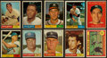 Baseball Cards:Sets, 1961 Topps Baseball Partial Set (413/587). ...