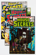Silver Age (1956-1969):Mystery, House of Secrets Group (DC, 1963-75) Condition: Average VF+....(Total: 6 Comic Books)