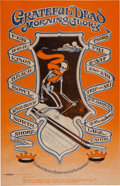 "Music Memorabilia:Photos, Grateful Dead/Morning Glory ""Trip or Ski"" Kings Beach Bowl ConcertPoster (1968)...."