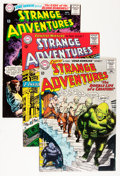 Golden Age (1938-1955):Science Fiction, Strange Adventures Group (DC, 1965-69) Condition: Average VF/NM....(Total: 6 Comic Books)