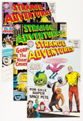 Silver Age (1956-1969):Science Fiction, Strange Adventures Group (DC, 1964-65) Condition: Average VF....(Total: 11 Comic Books)