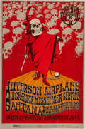 Music Memorabilia:Posters, Jefferson Airplane/Quicksilver Messenger Service/Santana WinterlandConcert Poster BG-222 (Bill Graham, 1972)....