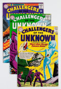 Silver Age (1956-1969):Superhero, Challengers of the Unknown Group (DC, 1962-67) Condition: Average VF.... (Total: 8 Comic Books)