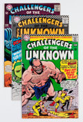 Silver Age (1956-1969):Superhero, Challengers of the Unknown Group (DC, 1966-70) Condition: Average VF-.... (Total: 13 Comic Books)