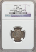 Bust Dimes: , 1832 10C -- Improperly Cleaned -- NGC Details. XF. JR-4. NGC Census: (7/247). PCGS Population (22/258). Mintage: 522,500. ...